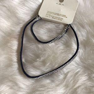 Jewelry - Ⓜ️choker and bracelet set